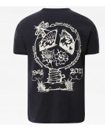 The north face s/s himalayan bottle source tee aviator navy