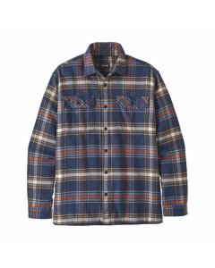 Patagonia l/s fjord flannel shirt defender new navy
