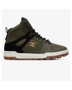 Dc shoes pure high wr boot olive black 2020