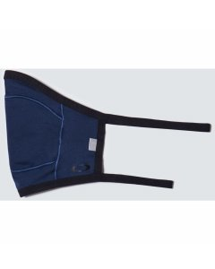 Oakley cloth face covering fitted lite mask universal blue