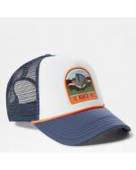 The north face valley trucker hat vintage indigo vintage white