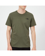 The north face simple dome tee new taupe green
