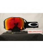 Oakley airbrake xl jet black prizm torch prizm sapphire maschera