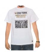 Zoo york city heights tee optic white new ss 2016 t-shirt