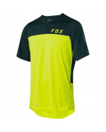 Fox racing flexair zip ss jersey fuorescent yellow
