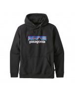 Patagonia p-6 logo uprisal hoody black