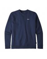 Patagonia p-6 label uprisal crew sweatshirt classic navy felpa 2020
