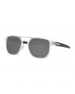 Oakley latch alpha matte silver prizm black polarized