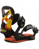 Union youth cadet pro bindings orange camo 2020