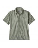 Patagonia puckerware shirt pieman matcha green 2019 camicia maniche corte new s m l xl