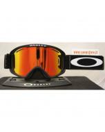 Oakley o2 o-frame 2.0 xm matte black fire iridium maschera