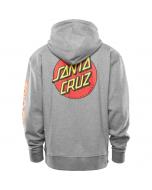 Thirtytwo 32 x santa cruz repel pullover hoodie grey heather 2021