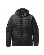 Patagonia m's nano puff hoody jacket black