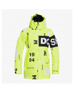 Dc shoes propaganda youth jacket syndicate safety yellow 2021