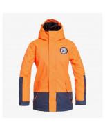 Dc shoes blockade youth jacket shocking orange 2021