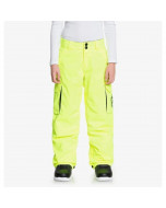 Dc shoes banshee youth cargo pant safety yellow 2021
