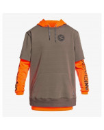 Dc shoes dryden 3 in 1 hoodie shocking orange 2021