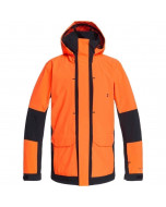 Dc shoes command jacket shocking orange 2021