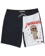 Billabong x metallica collection landmine black boardshorts 2020