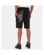 The north face graphic light short tnf black