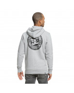 Dc shoes circle star zip hoodie grey heather fw 2019
