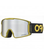 Oakley line miner factory pilot progression prizm black snow iridium maschera