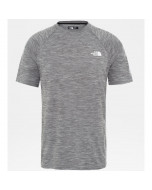 The north face s/s impendor tee tnf black white heather
