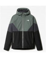 The north face lightning jacket asphalt grey agave green