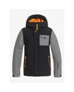 Quiksilver ridge youth jacket true black 2021