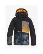 Quiksilver silvertip youth jacket true black parafinum 2021