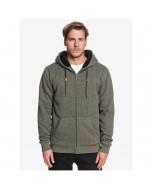 Quiksilver keller sherpa zip hoodie thyme heather 2020
