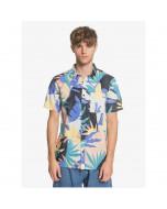 Quiksilver tropical flow ss shirt snow white tropical flow 2020