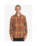 Quiksilver motherfly flannel shirt henna mortherfly 2021