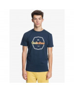 Quiksilver hard wired ss tee navy blazer t-shirt 2021