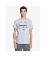 Quiksilver hard wired ss tee athletic heather 2021