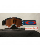 Oakley o2 xs shady trees blue red persimmon