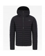 The north face stretch down hoody jacket tnf black 700