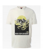 The north face s/s natural wonders tee vintage white