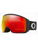 Oakley flight tracker xl matte black prizm snow torch iridium