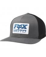Fox racing charger flexfit hat L/XL pewter 2020