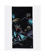 Billabong waves towel black artwork 2019