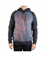 Neff corporate hoodie grey fw 2017 felpa