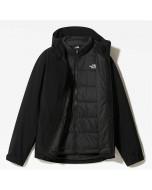 The north face  mountain light futurelight triclimate jacket tnf black tnf black