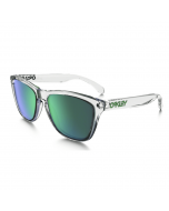 Oakley frogskins polished clear jade iridium crystal collection