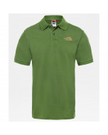 The north face polo piquet garden green