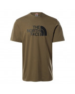 The north face s/s easy tee military olive
