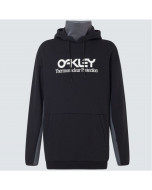 Oakley TNP dwr fleece hoodie blackout 2021