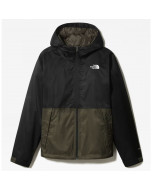 The north face millerton jacket new taupe green tnf black
