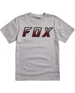 Fox racing youth hightail it ss tee light heather grey 2020